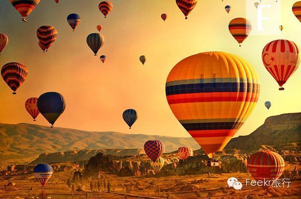 漫天飞舞着色彩艳丽,造型奇特的热气球让你惊艳,夜晚的点灯仪式更是